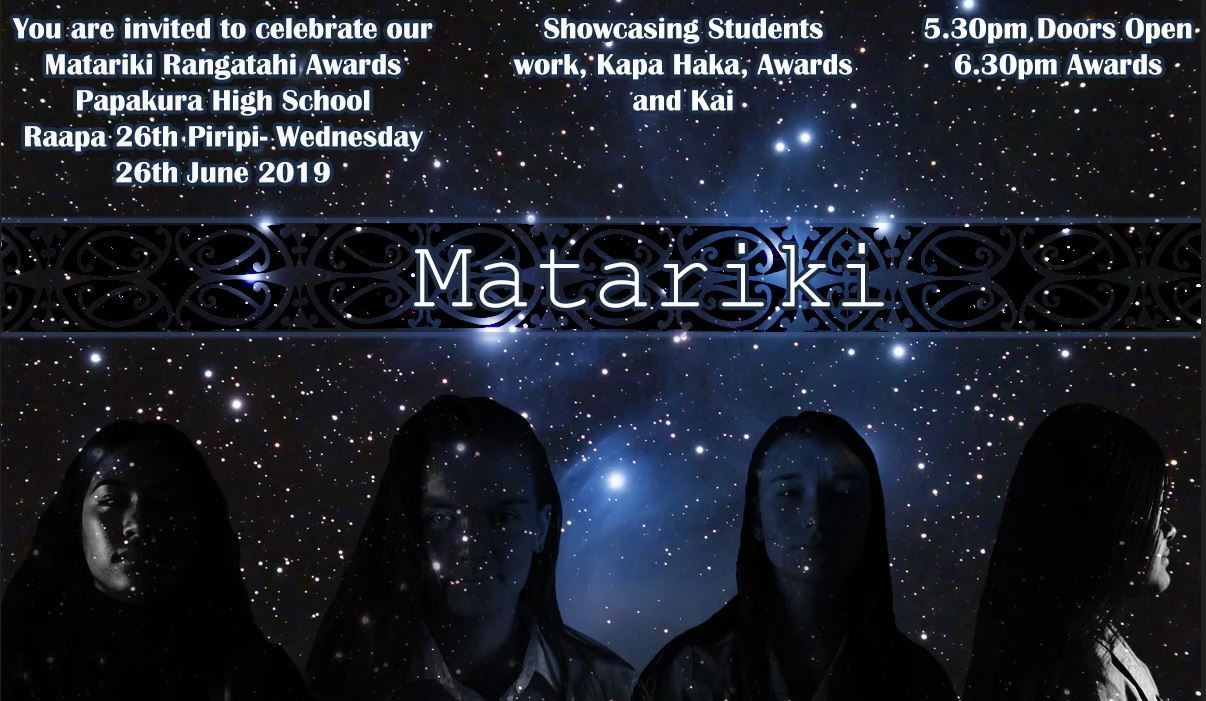 Matariki Celebration and Rangatahi Awards