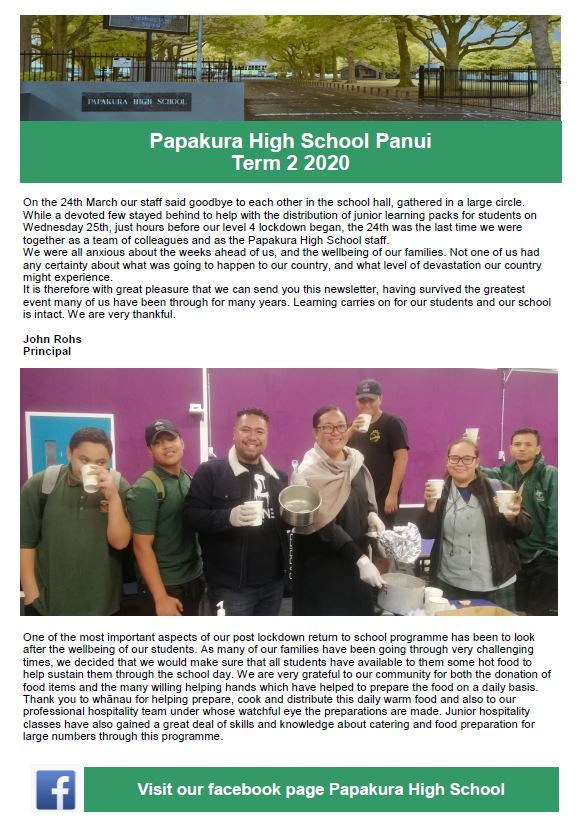 Newsletter   Issue 2 Term 2 2020