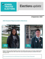 Student Trustee Elections 2020