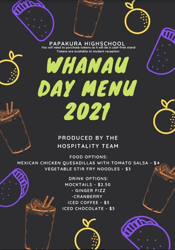 Whānau Day on Friday 26 March